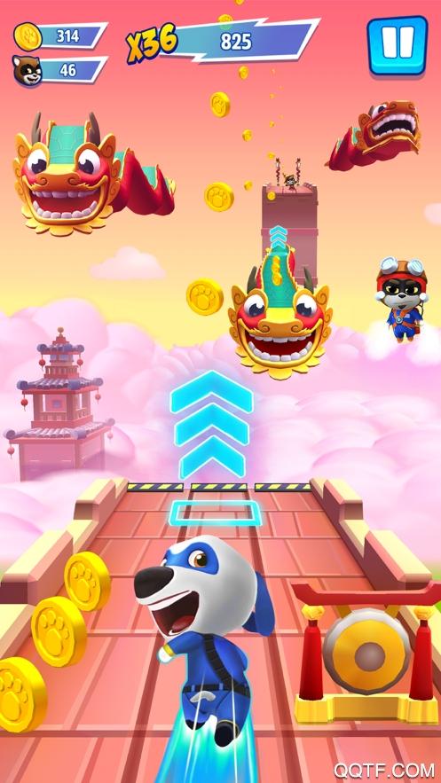 汤姆猫炫跑游戏ios版v1.3.1 iPhone版