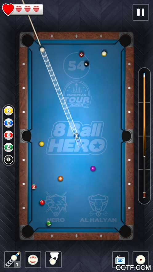 8 Ball Hero官方IOS版手游v1.10 iPhone版