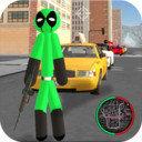 绿棍火柴人绳索英雄最新版手游v1.1 安卓版