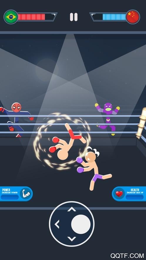 火柴人战争格斗游戏最新ios版v1.0 iPhone版