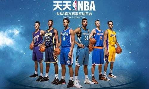 关于NBA的游戏