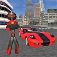 犯罪模拟器(火柴人绳索英雄)破解版中文版v3.5 最新版