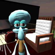 Squidward Sponge Neighbor恐怖章鱼哥破解版v1.2 最新版